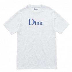 T-shirts Dime mtl Dime classic logo t-shirt DIMEF1802ASH