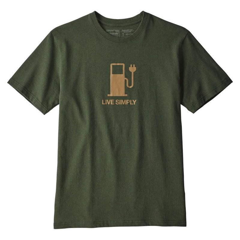 Patagonia T-shirts Live simply power responsabili-tee 39171