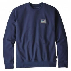 Felpe girocollo Patagonia Shop sticker patch uprisal crew sweatshirt 39541