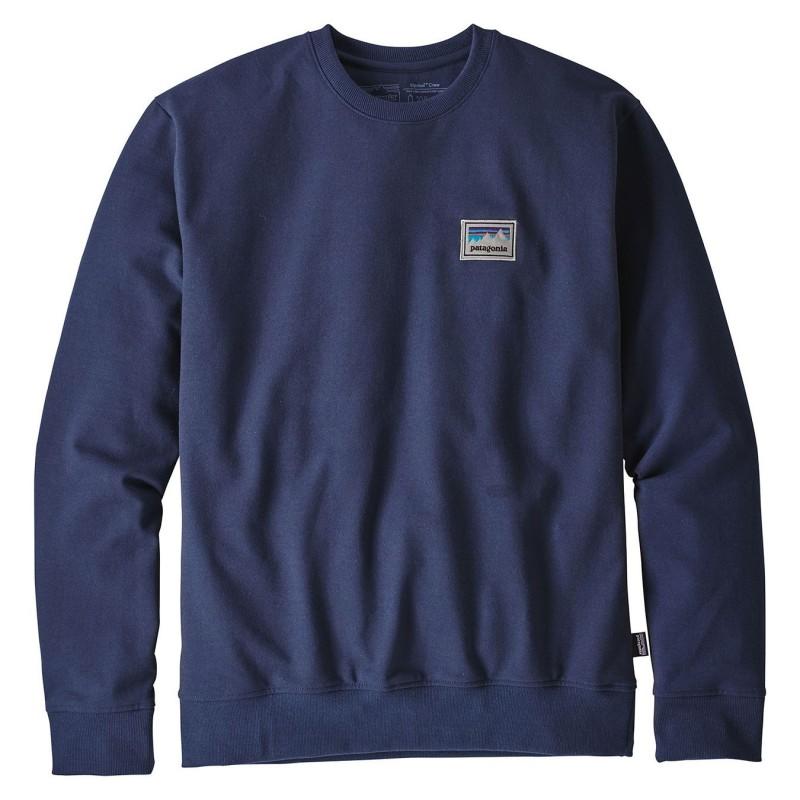 Patagonia Felpe girocollo Shop sticker patch uprisal crew sweatshirt 39541
