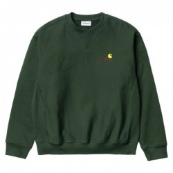 Felpe girocollo Carhartt American script sweatshirt I025475