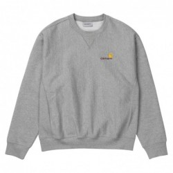 Carhartt Felpe girocollo American script sweatshirt I025475