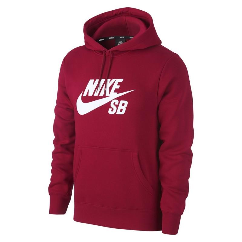 Felpe cappuccio Nike sb Icon hoodie po AJ9733-618