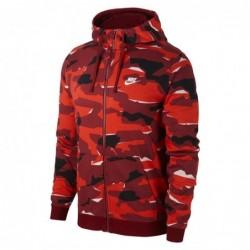 Nike sportswear Felpe cappuccio Club camo hoodie fz AQ0596-677