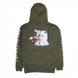 Ripndip Felpe cappuccio Zipperface pullover sweater RDN2730
