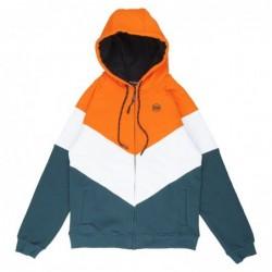 Dolly noire Felpe cappuccio Cape town zip hoodie SW220