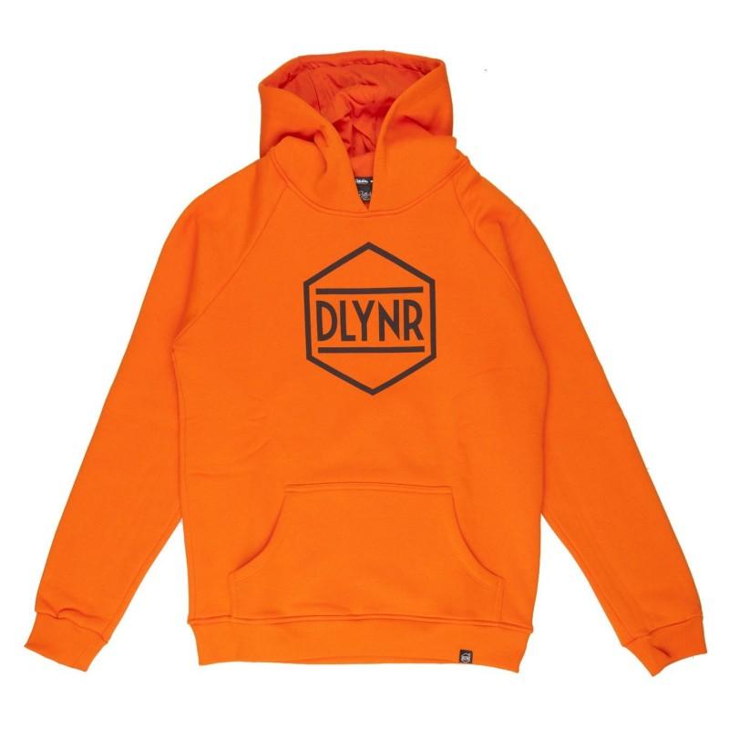 Felpe cappuccio Dolly noire Hex orange SW87