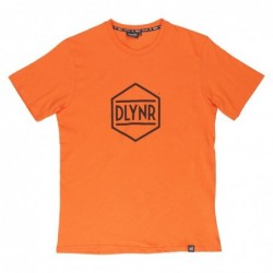 Dolly noire T-shirts Hexagon orange TS179