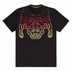 T-shirts Iuter Redyellow tibetan gradient tee 18WITS68