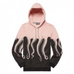 Felpe cappuccio Octopus Black octopus hoodie original 18WOSH01