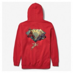 Felpe cappuccio Diamond supply Trinity hood E35DIATRIRED