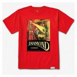 T-shirts Diamond supply Winners die tee E20DIAWIDRED
