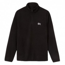 Stussy Felpe girocollo Polar fleece half zip 118287