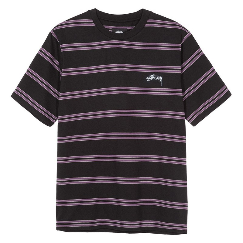 Stussy T-shirts Double stripe crew 1140100