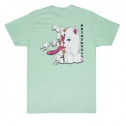 Ripndip T-shirts Zipperface tee RND2767