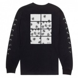 T-shirt maniche lunghe Fucking awesome Flies longsleeve FAFLLSTEE