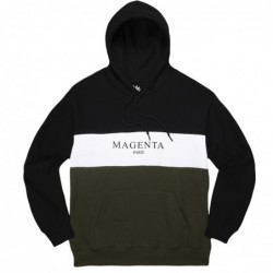 Felpe cappuccio Magenta skateboard Paris tricolor hoodie MAGFA18HOO04