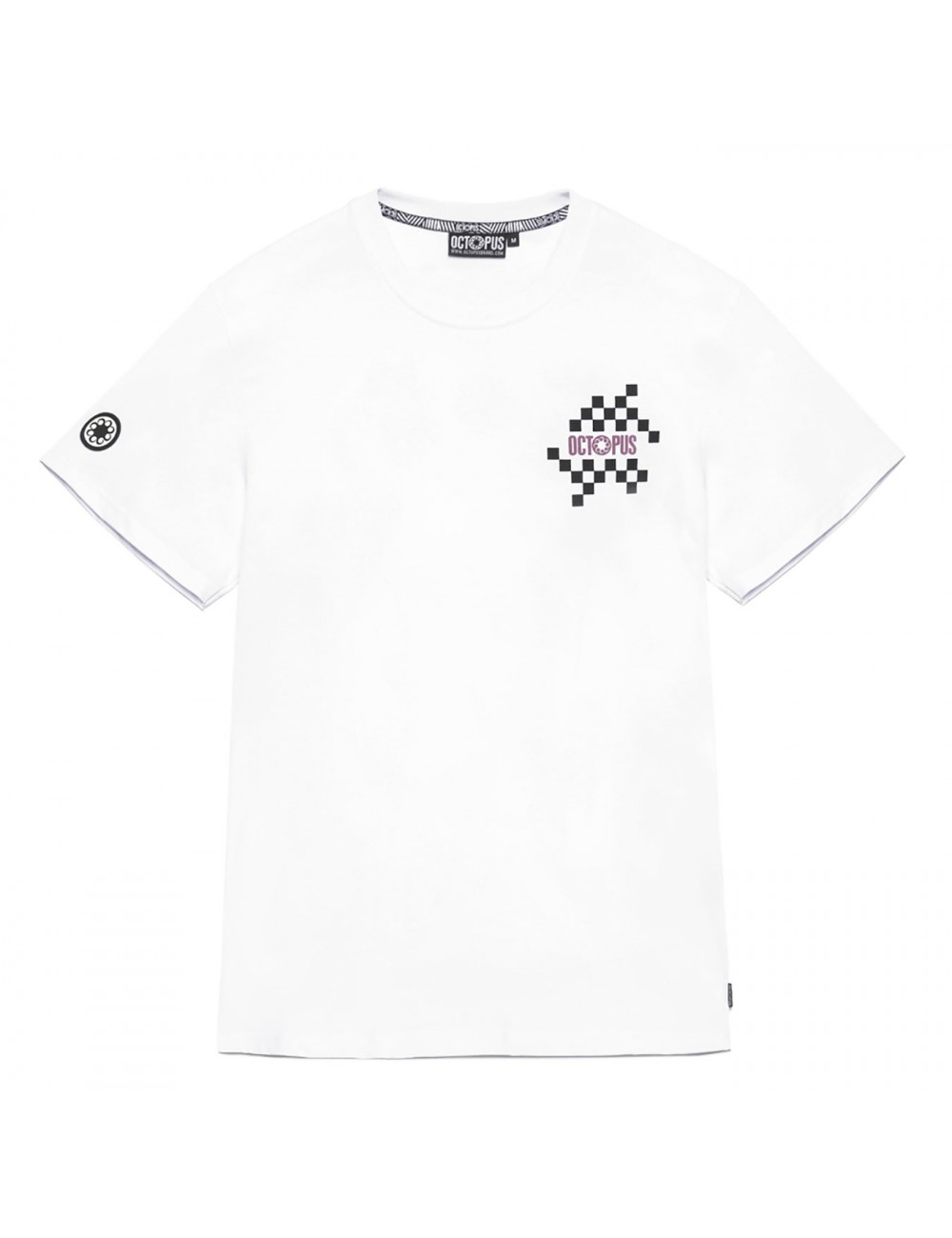 Octopus Checkered logo tee - 19WOTS14 | Shapestore.it