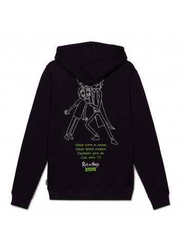 Rick and morty watch hoodie