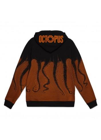 Black octopus hoodie original