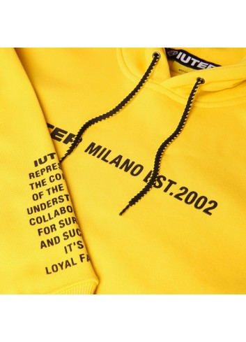 Iuter Manifesto hoodie - 19WISH17 | Shapestore.it