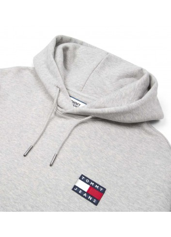 Tommy hilfiger Tommy jeans badge hoodie - DM0DM06593038 | Shapestore.it