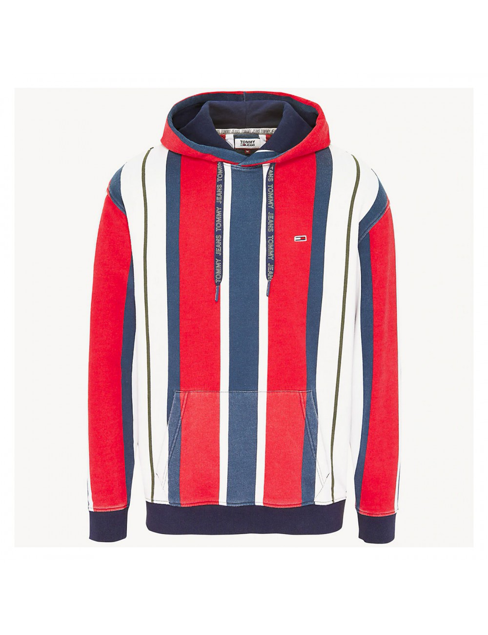 Tommy hilfiger Tjm vertical stripe hoodie - DM0DM06585667 | Shapestore.it