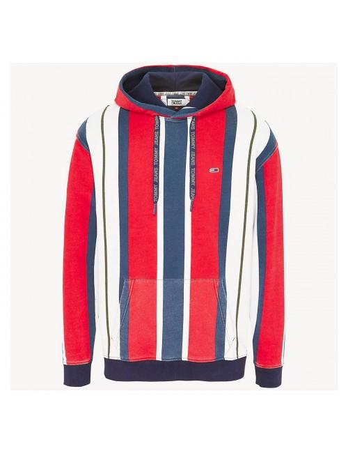 Tjm vertical stripe hoodie
