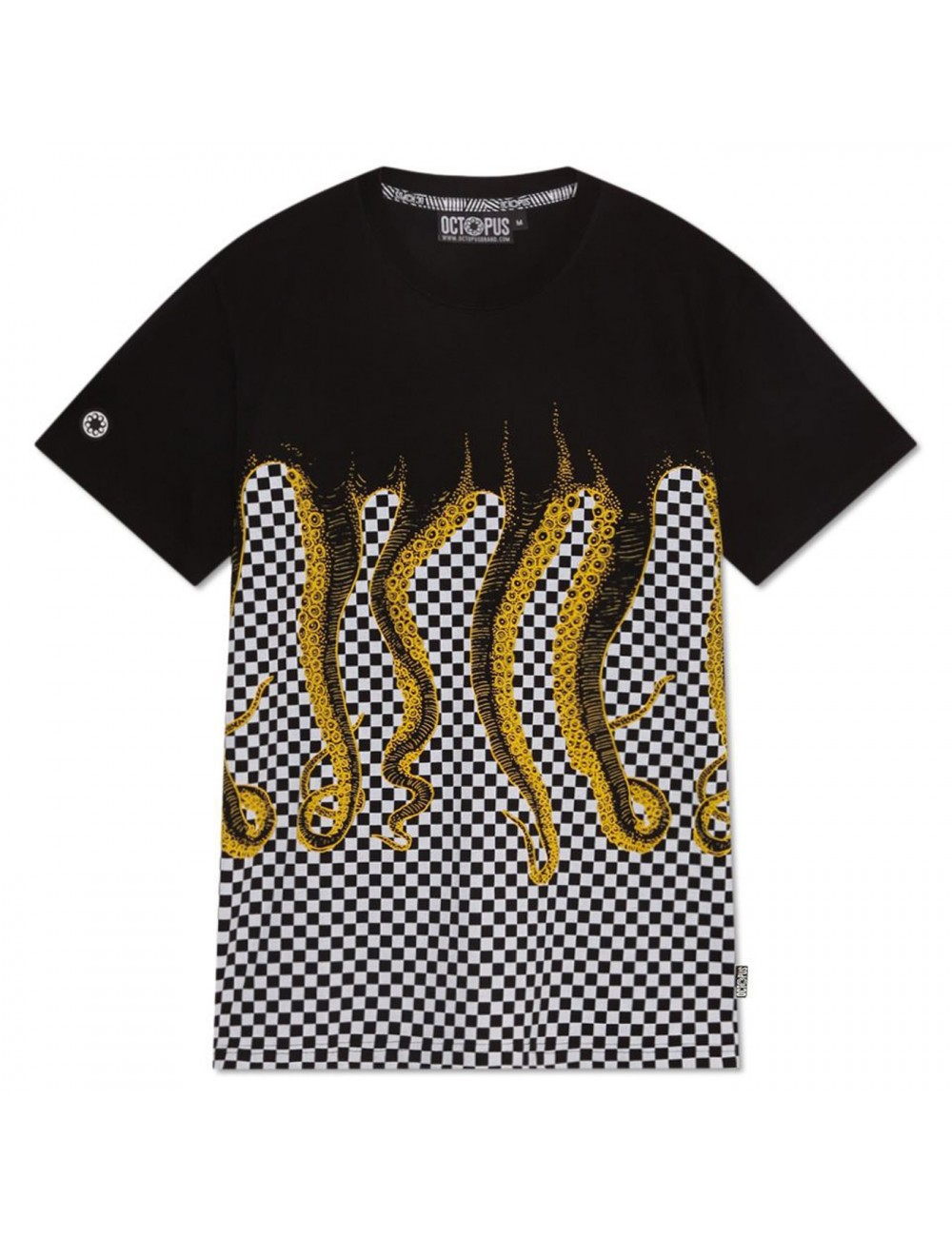 Octopus Octopus checkered tee - 19WOTS13 | Shapestore.it