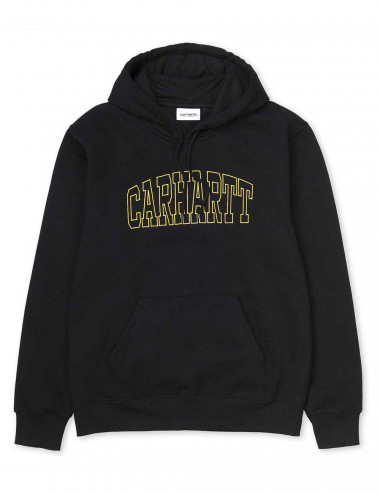 Carhartt Hooded theory embroidery sweat - I027032 | Shapestore.it