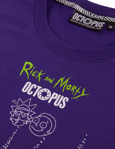 Octopus Rick and morty vortex tee - 19WOTS27 | Shapestore.it
