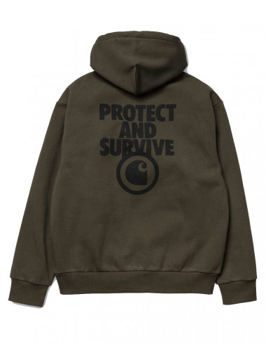 Carhartt Hooded protect sweat - I027114 | Shapestore.it