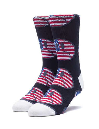 Huf Bummer usa socks - SK00371 | Shapestore.it