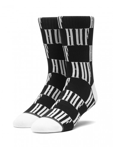 Huf Big checkered socks - SK00372 | Shapestore.it