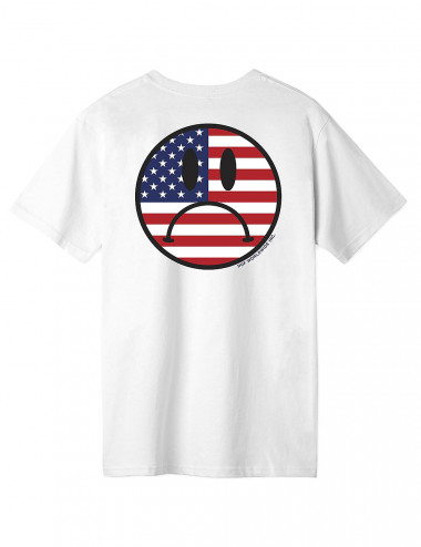 Huf Bummer usa tee - TS00800 | Shapestore.it