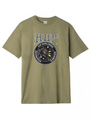 Huf Information warfare tee - TS00879 | Shapestore.it