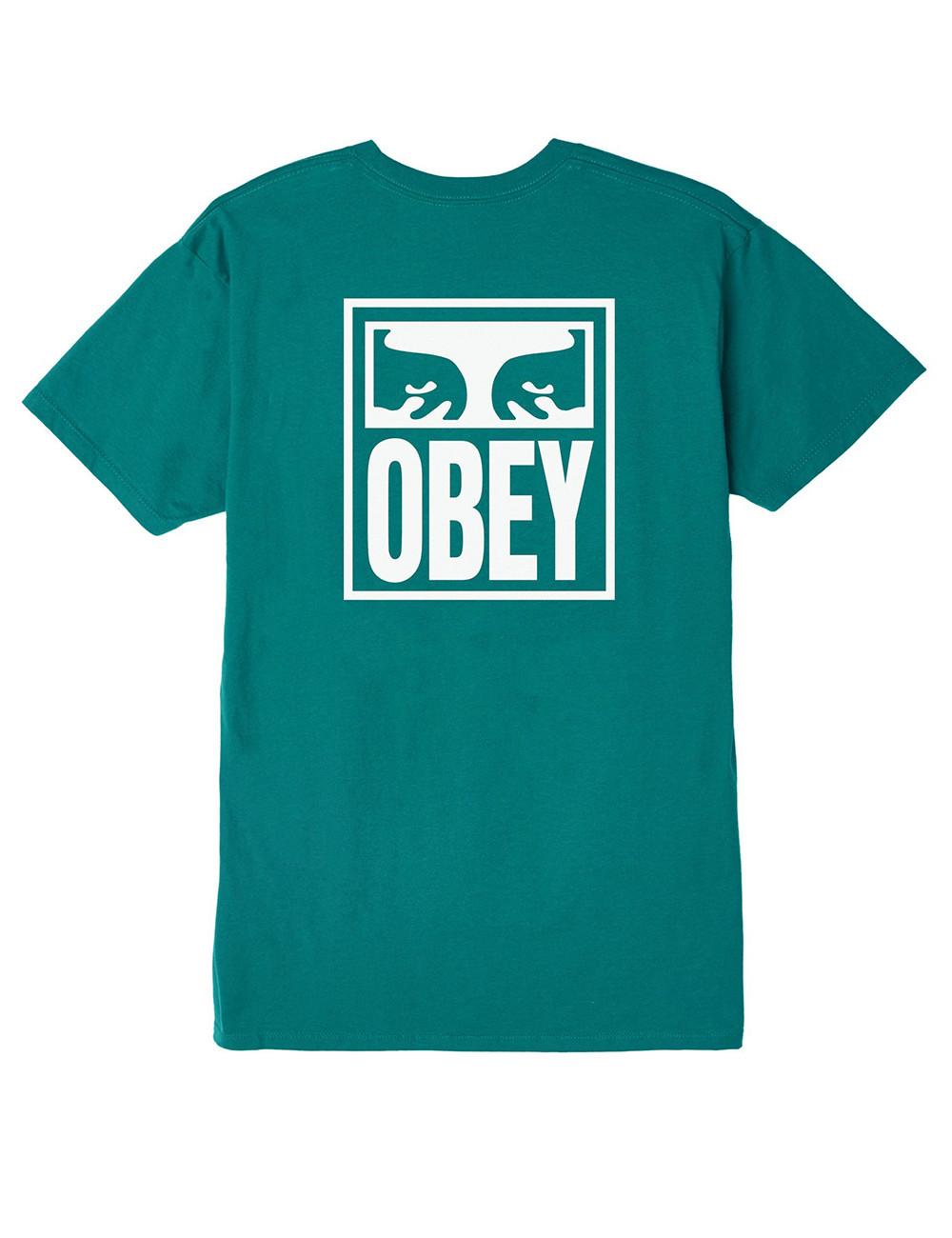Obey Eyes icon basic tee - 163081874 | Shapestore.it
