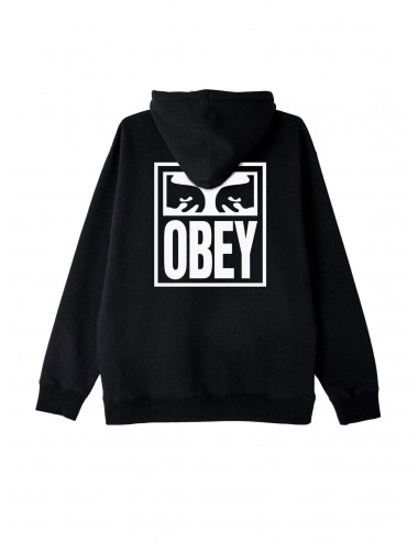 Obey Eyes icon box fit premium hood fleece - 112841874 | Shapestore.it