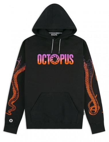 Octopus Sunrise octopus gradient logo hoodie - 19WOSH25 | Shapestore.it
