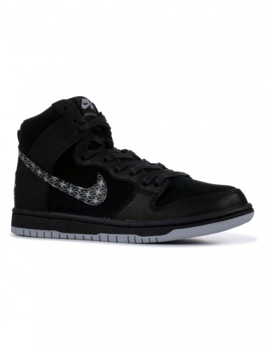 Nike sb Dunk hi bar black qs - AH9613-002 | Shapestore.it