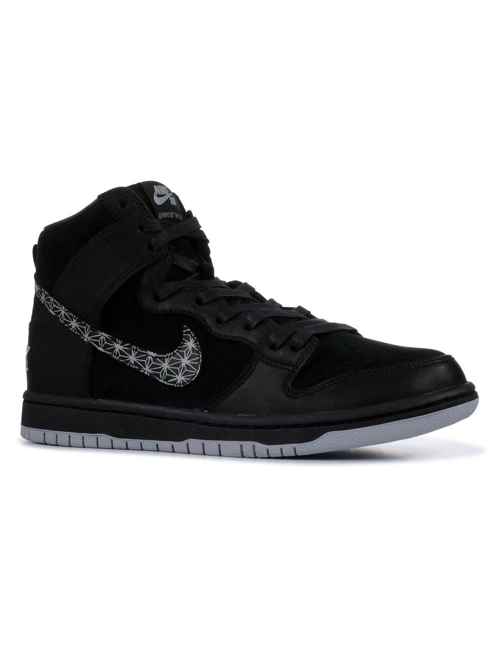 Nike sb Dunk hi bar black qs - AH9613-002   Shapestore.it