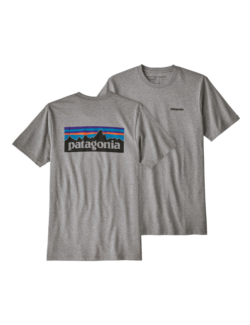 Patagonia P-6 logo responsability tee - 39174 | Shapestore.it