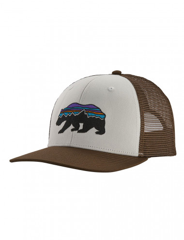 Patagonia Fitz roy bear trucker hat - 38200 | Shapestore.it