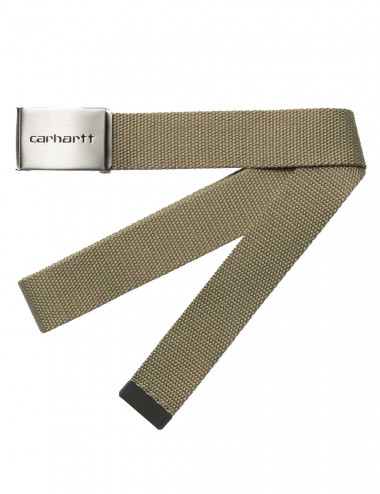 Carhartt Clip belt chrome - I019176 | Shapestore.it