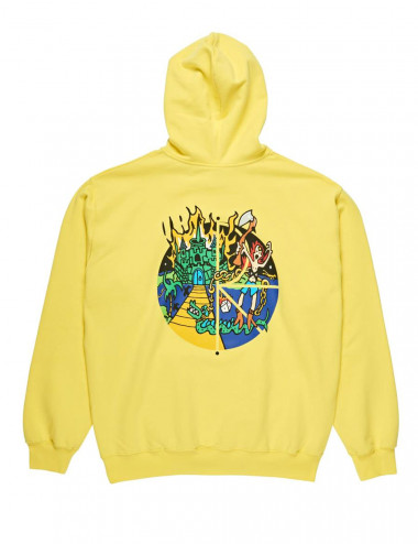 Polar Castle fill logo hoodie - POL-CFLH | Shapestore.it