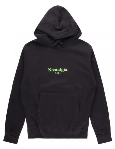 Nostalgia og logo hoodie