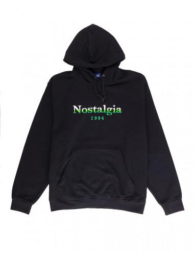Nostalgia gradient logo hoodie