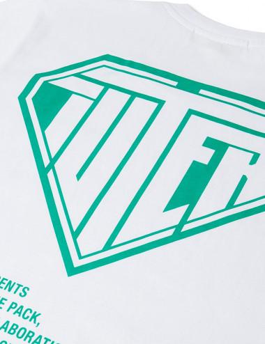 Double logo tee
